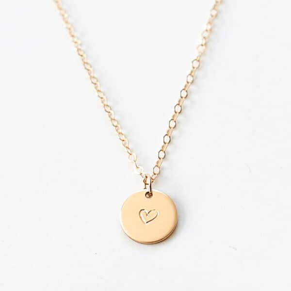Simple Heart nyaklánc