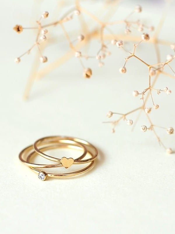 Születési gyűrűk, masnis gyűrű