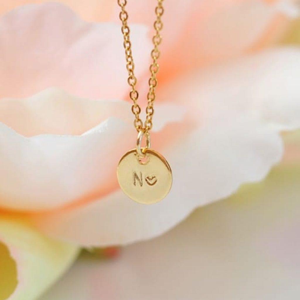 My Love gravírozott nyaklánc, névvel ellátva