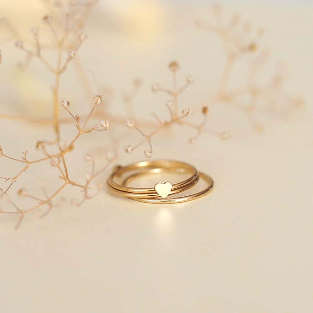 Szívecskés gyűrű